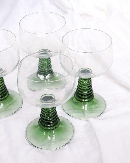 je suis flore, servies, glaswerk, wijnglazen, wijn, glazen, Duitse wijnglazen