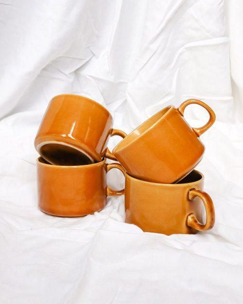je suis flore, terracotta kopjes, terracotta, kopjes, koffie kopjes, koffie kop, mok, servies