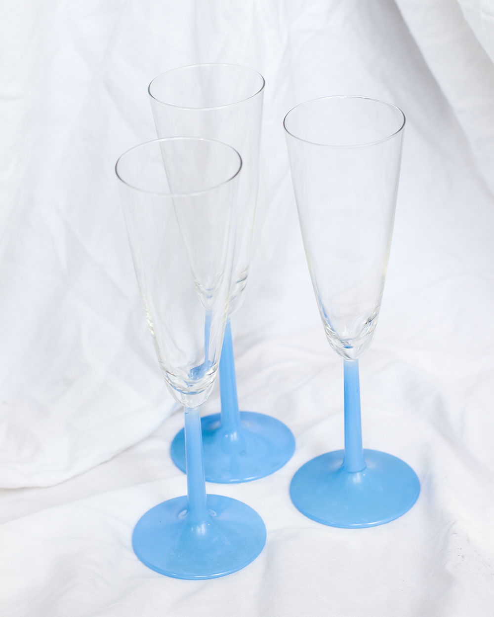 je suis flore, servies, glazen, champagne glazen, champagne
