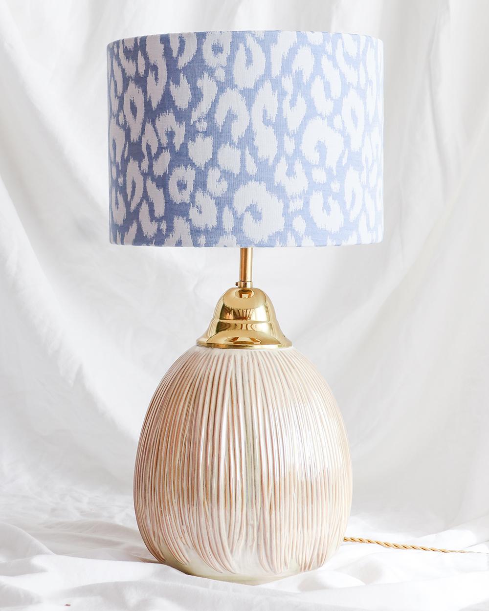 je suis flore, lamp, lampen, lampenkap, zacht gele lamp